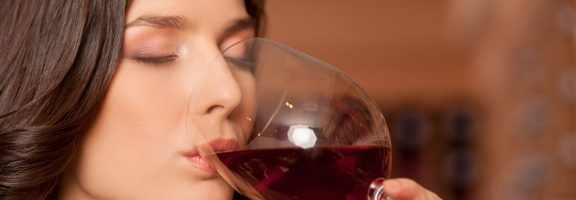 The scents of wine
